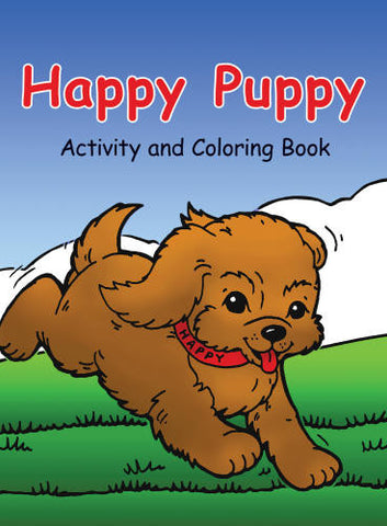 The Happy Puppy Activity and Coloring Book