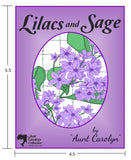Lilacs and Sage Pocket Size