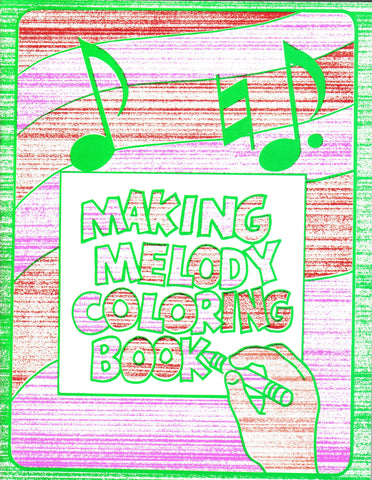Making Melody Coloring Book – The Children\'s Bible Club & Bookstore