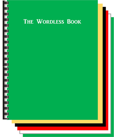 Teachers Wordless Book Tell the Gospel Story in 5 Colors – The ...