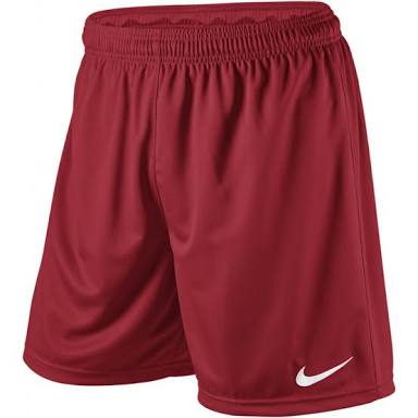 Nike Park Knit Men's Football Short (Maroon) - Soka Diski