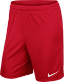 Nike Park Knit Men's Football Short (Red) - Soka Diski