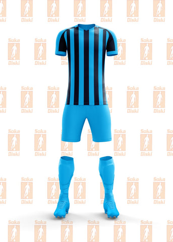 SD Striped Adults Soccer Kit