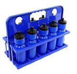 Plastic water bottle carrier include 10 water bottles - Soka Diski