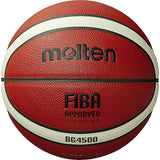 Molten G4500 Leather FIBA Approved Basketball