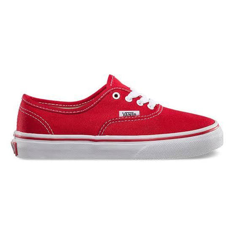 Vans Authentic Red Kids - Soka Diski