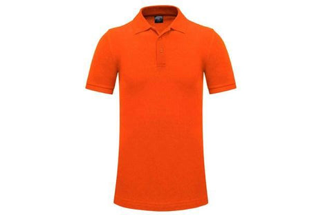 Plain Golf Shirt Adult Orange - Soka Diski