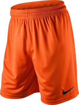 Nike Park Knit Men's Football Short (Orange) - Soka Diski