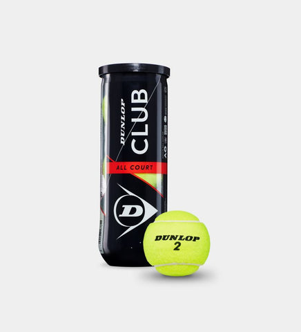 DUNLOP CLUB ALL COURT 3 Tennis Balls