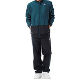 Adidas TS A Woven Tracksuit Dark Green/Black