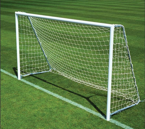 Set of Two 3m x 2m Goal Post Including Net - Soka Diski