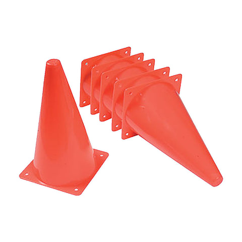 Set of 10 Training / Agility Cones - Soka Diski