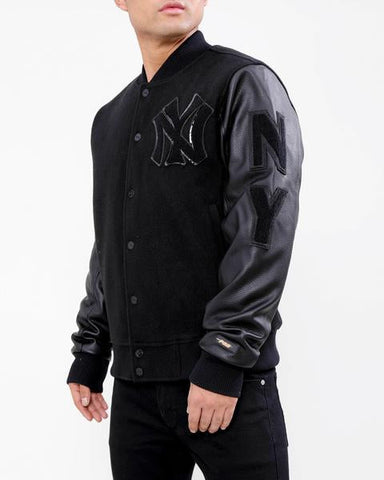 New York Yankees Retro 1927 Logo Varsity Jacket