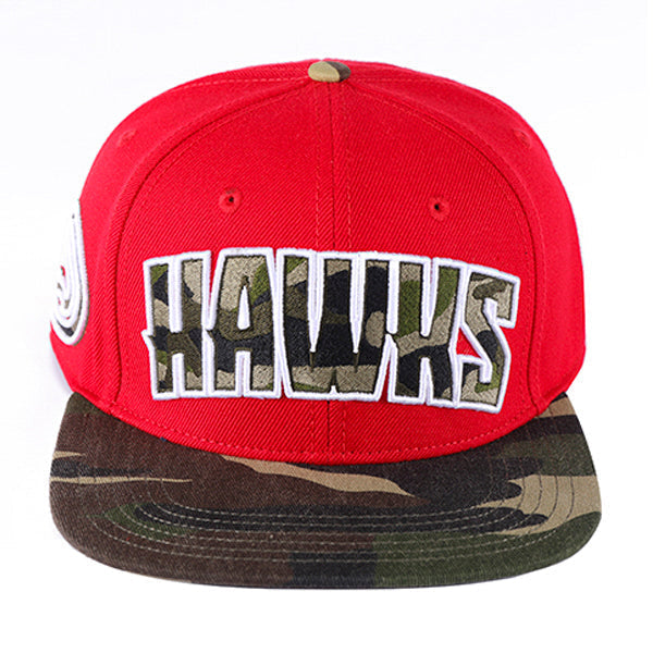 ATLANTA HAWKS TEAM WM CAMO HAT