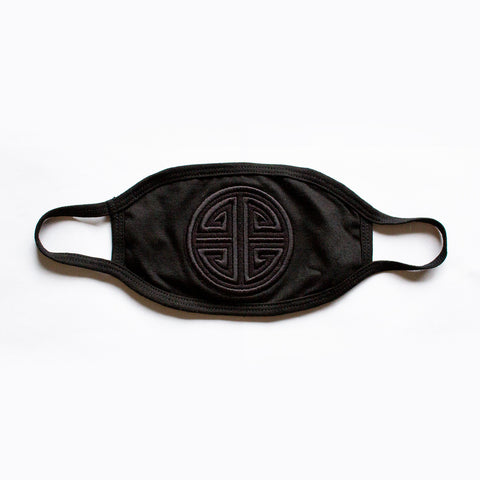 EMPIRE Black Logo - Face Mask