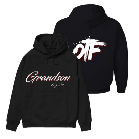 Black OTF Hoodie + Album Download