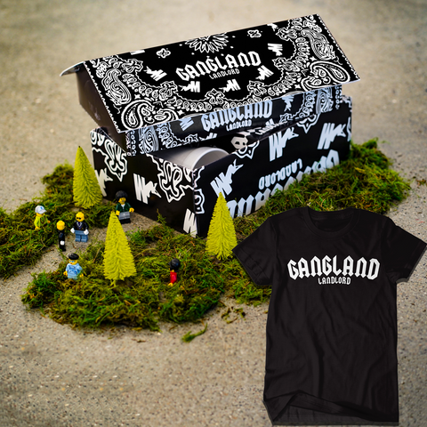 [PRE-ORDER] Mozzy - Gangland Landlord Deluxe Box Set + T-Shirt + Digital DL