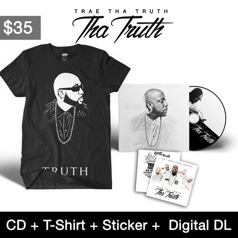 "Trae Tha Truth - ""Tha Truth"" CD + T-Shirt Bundle"