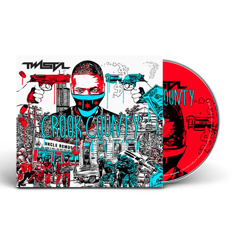 Twista - Crook County (CD) [AUTOGRAPHED] {PRE-ORDER}