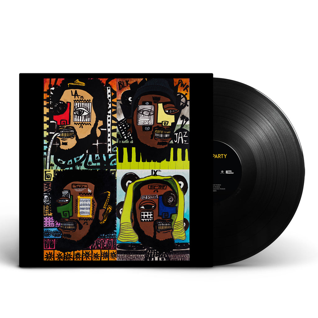 Terrace Martin, Robert Glasper, 9th Wonder, Kamasi Washington - Dinner Party Vinyl + Download (Pre-Order)