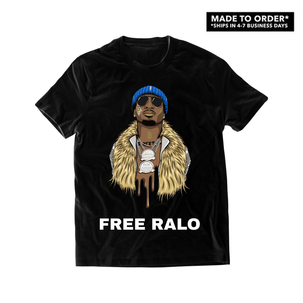 Ralo - FREE RALO T-Shirt (Black) *MADE TO ORDER*
