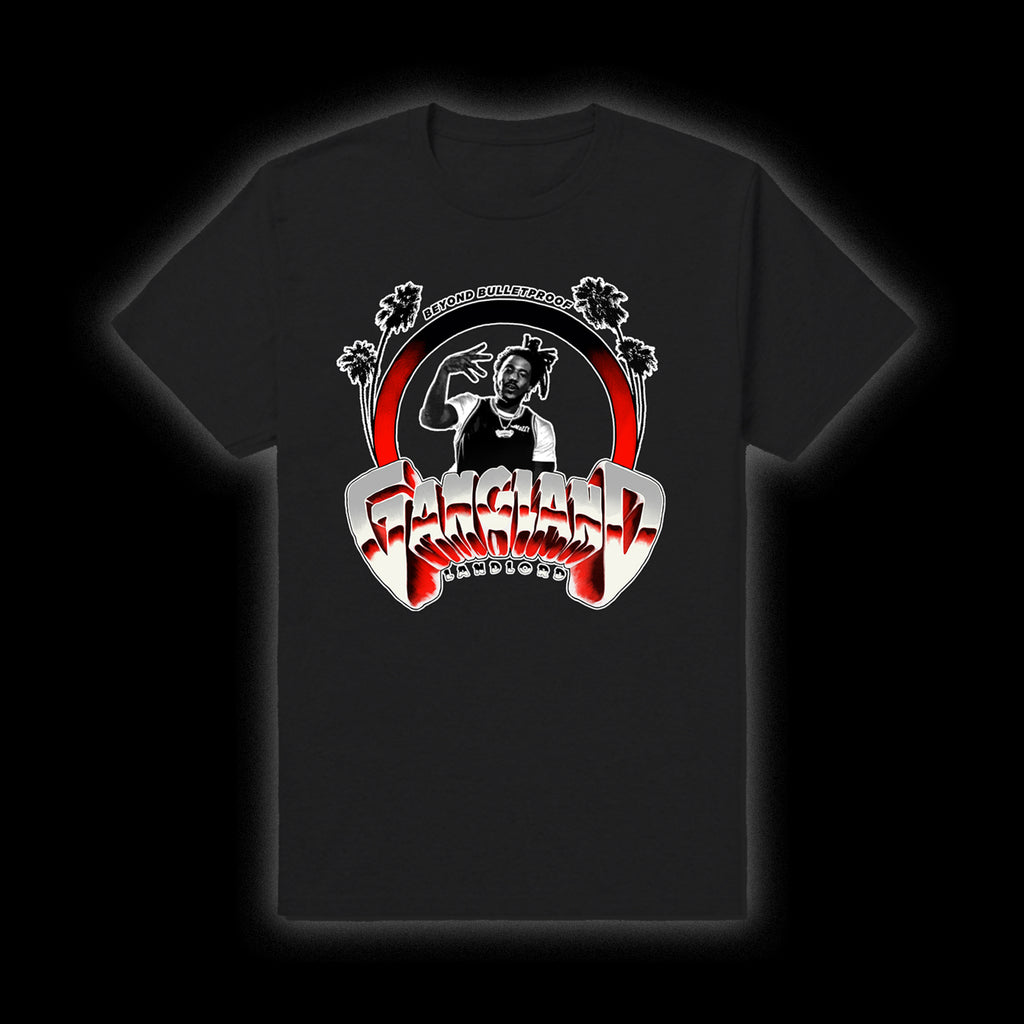 MOZZY - California Gangland Black Tee + Download