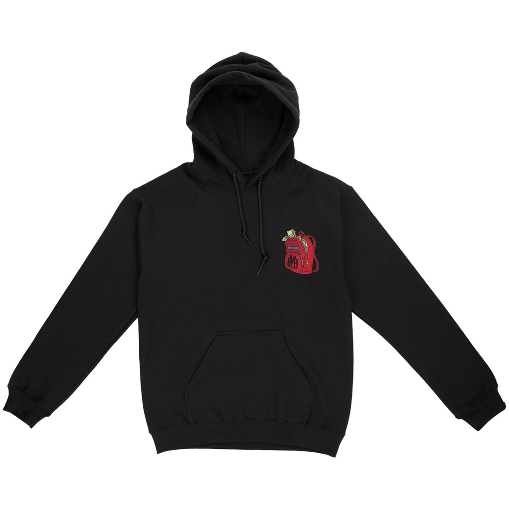 TRAV - Nothing Happens Overnight Black Hoodie