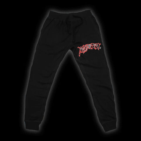 MOZZY - California Gangland Black Joggers + Download
