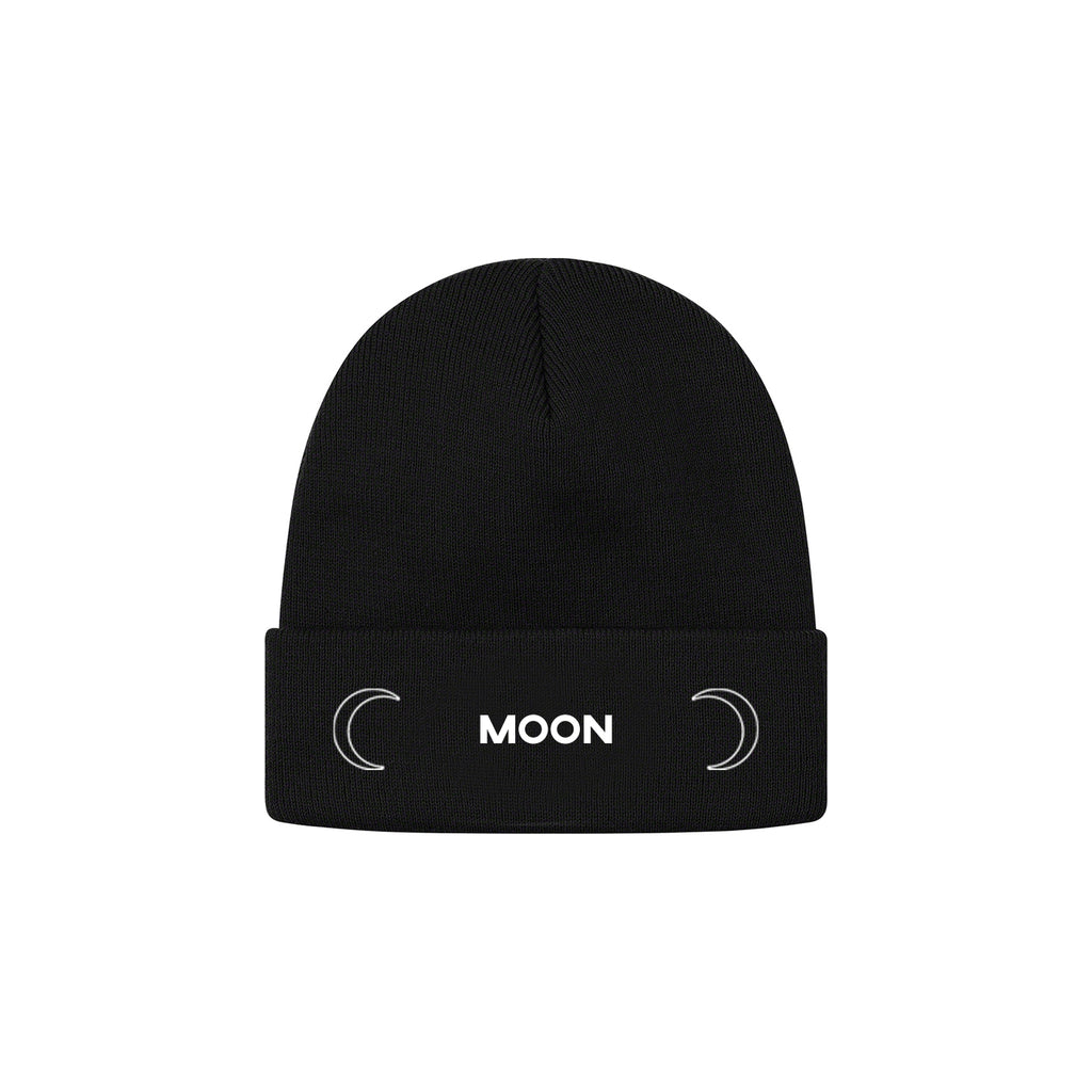 Kid Trunks- Moon - Black Beanie (Pre-Order) + Download