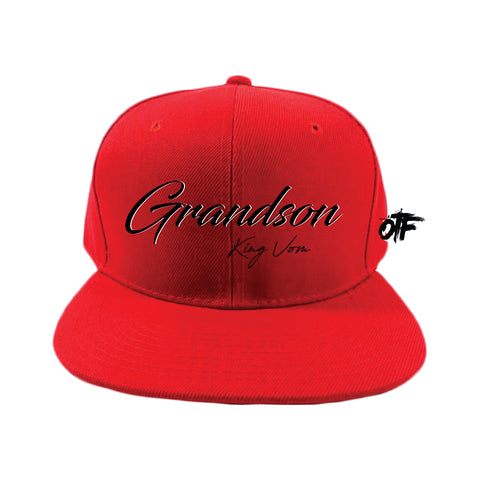 Red OTF Red Snapback + Album Download