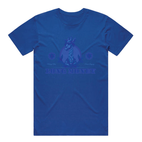 Long Money- Royal Blue Tee
