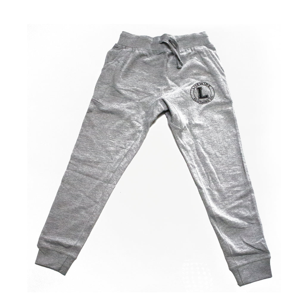 J. Stalin - Insignia Jogger Sweats (Heather Grey)