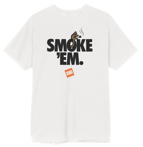 Lil Romo - Smoke Em White Tee + Download