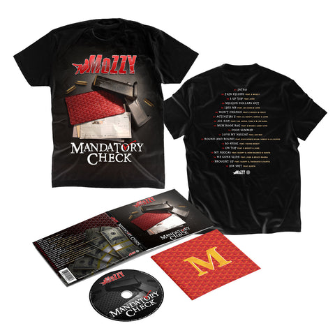 Mozzy - Mandatory Check T-Shirt Bundle
