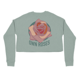 Nikita Karmen - Own Roses Sage Crop Sweater