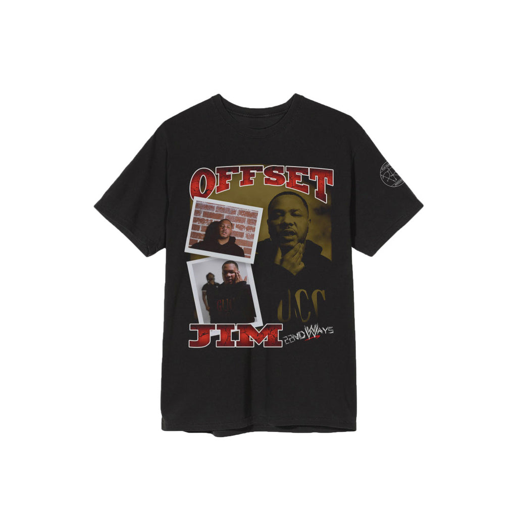 22nd Ways - Offset Jim Wrestler Tee