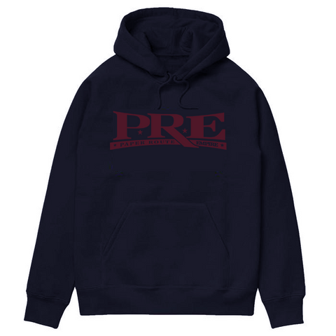 Young Dolph - PRE Logo Hoody (Navy)