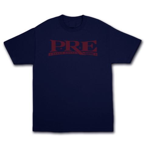 Young Dolph - PRE Logo T-Shirt (Navy)