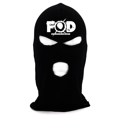 Philthy Rich - FOD Black / White Ski Mask