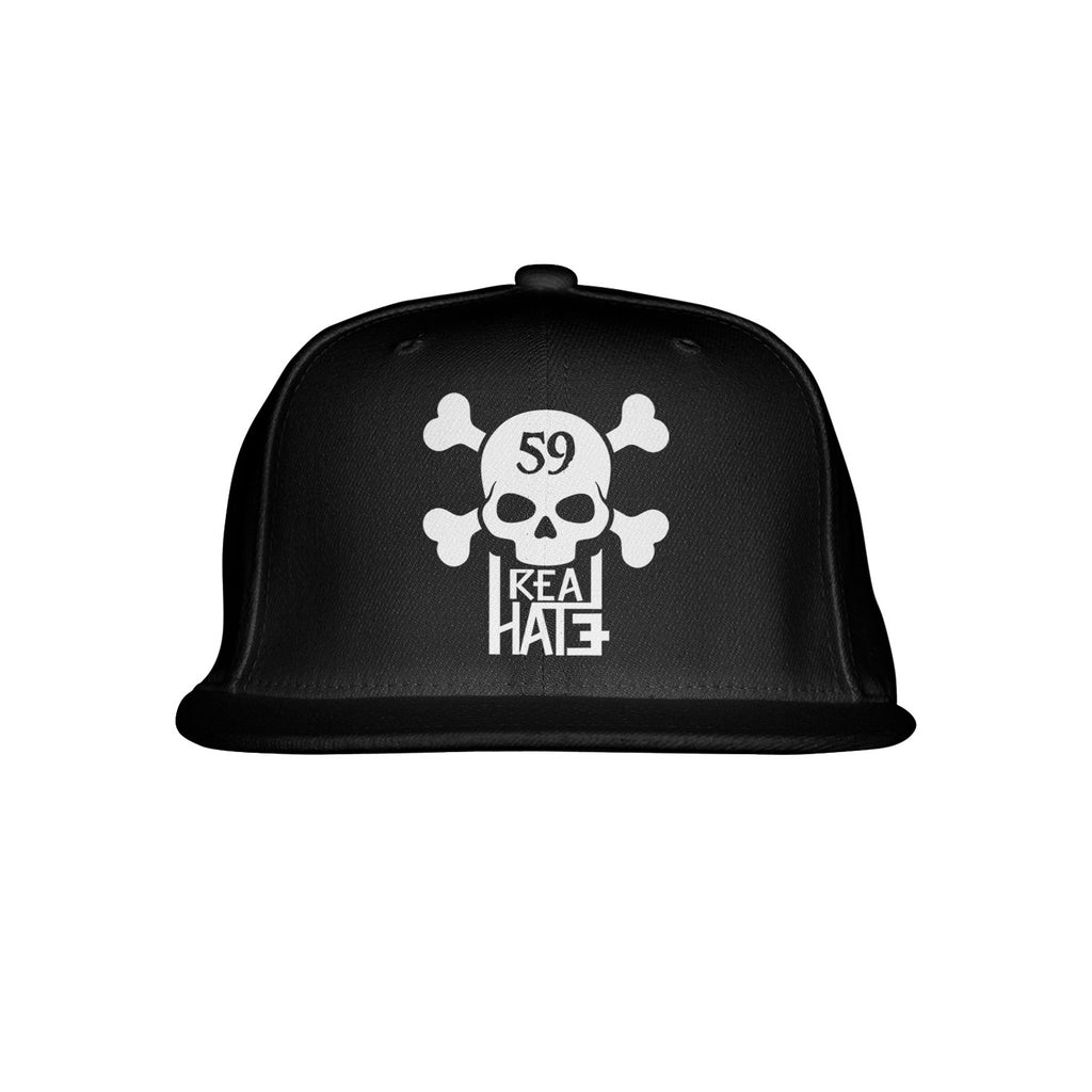 Philthy Rich - Real Hate - 59 Skull Black Hat  + DL