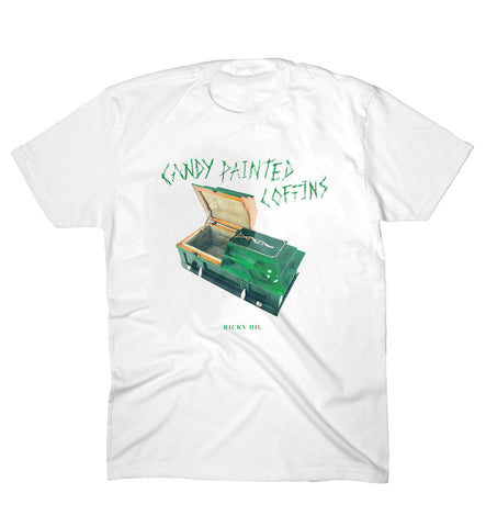 Ricky Hil - Candy Coffin T-Shirt (White)