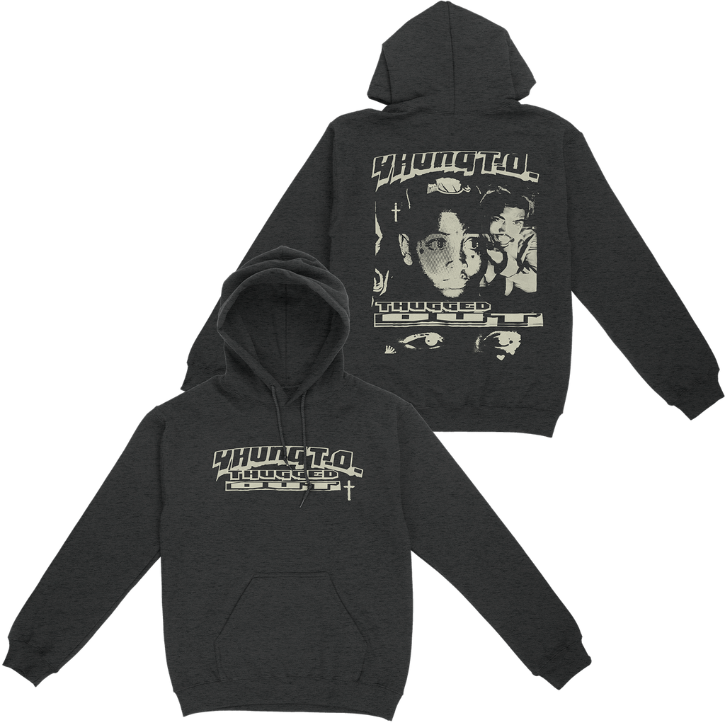 Yhung T.O. - Thugged Out Charcoal Hoodie + Download