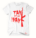 Tay Way - White / Red T-Shirt