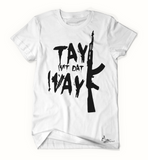 Tay Way - White / Black T-Shirt