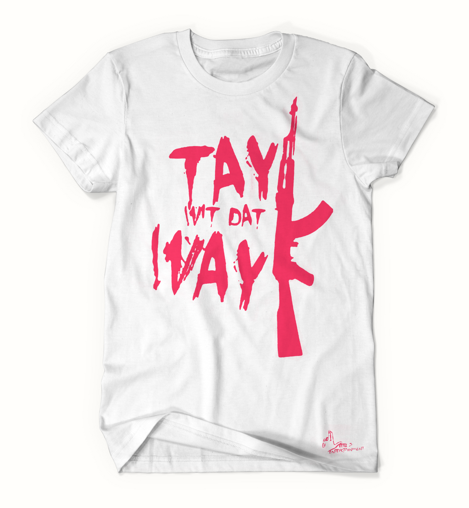 Tay Way - White / Pink T-Shirt
