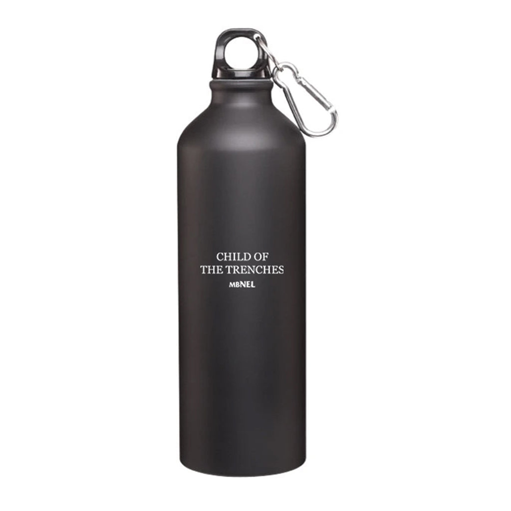MBNEL- Child Of The Trenches- Matte Black Water Bottle + Download