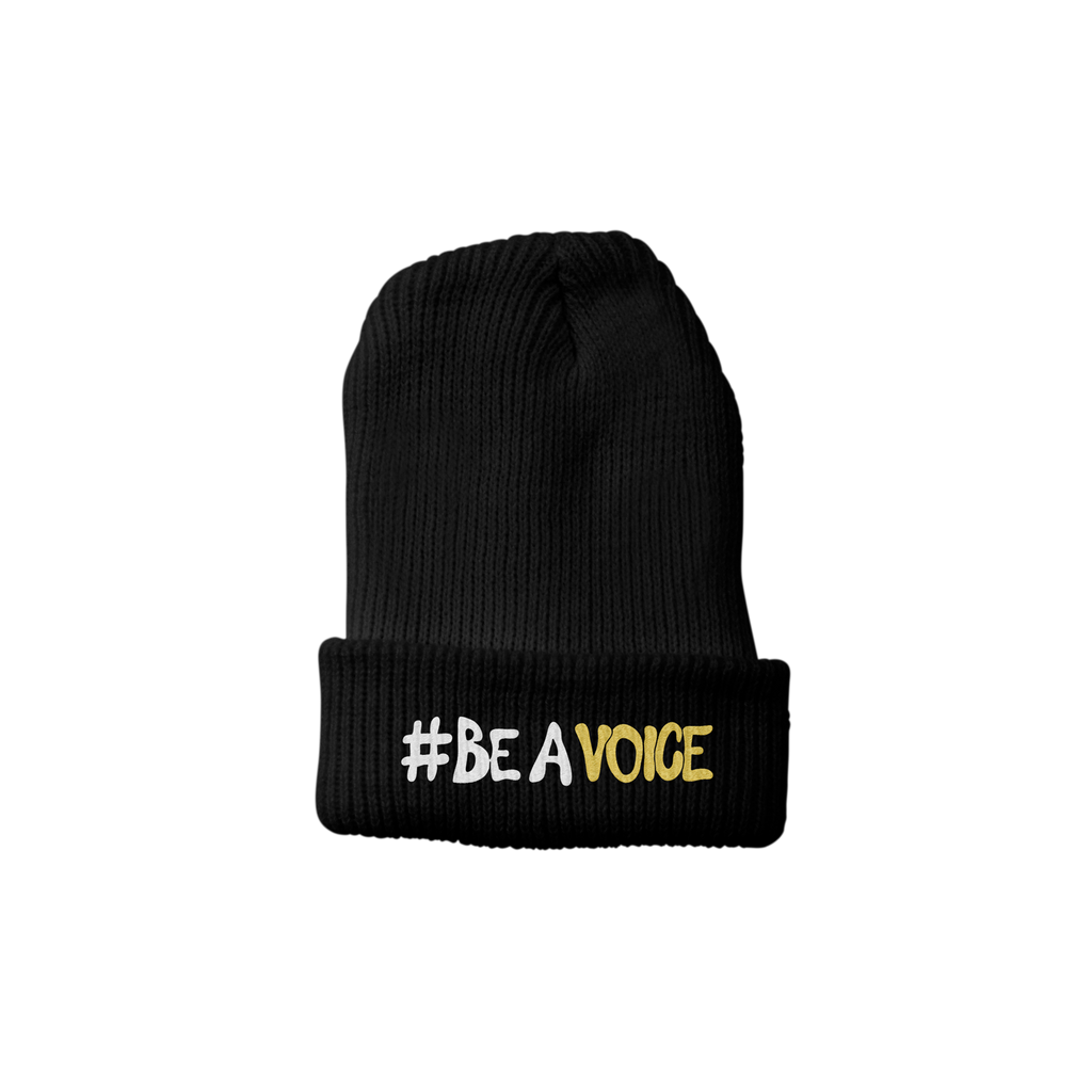 Voices For Change - Black Beanie + Digital Download