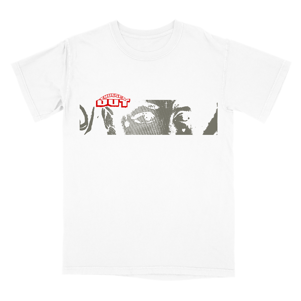 Yhung T.O. - Thugged Out Eyes White T-Shirt + Download