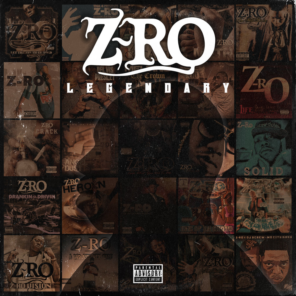 Z-RO - LEGENDARY CD