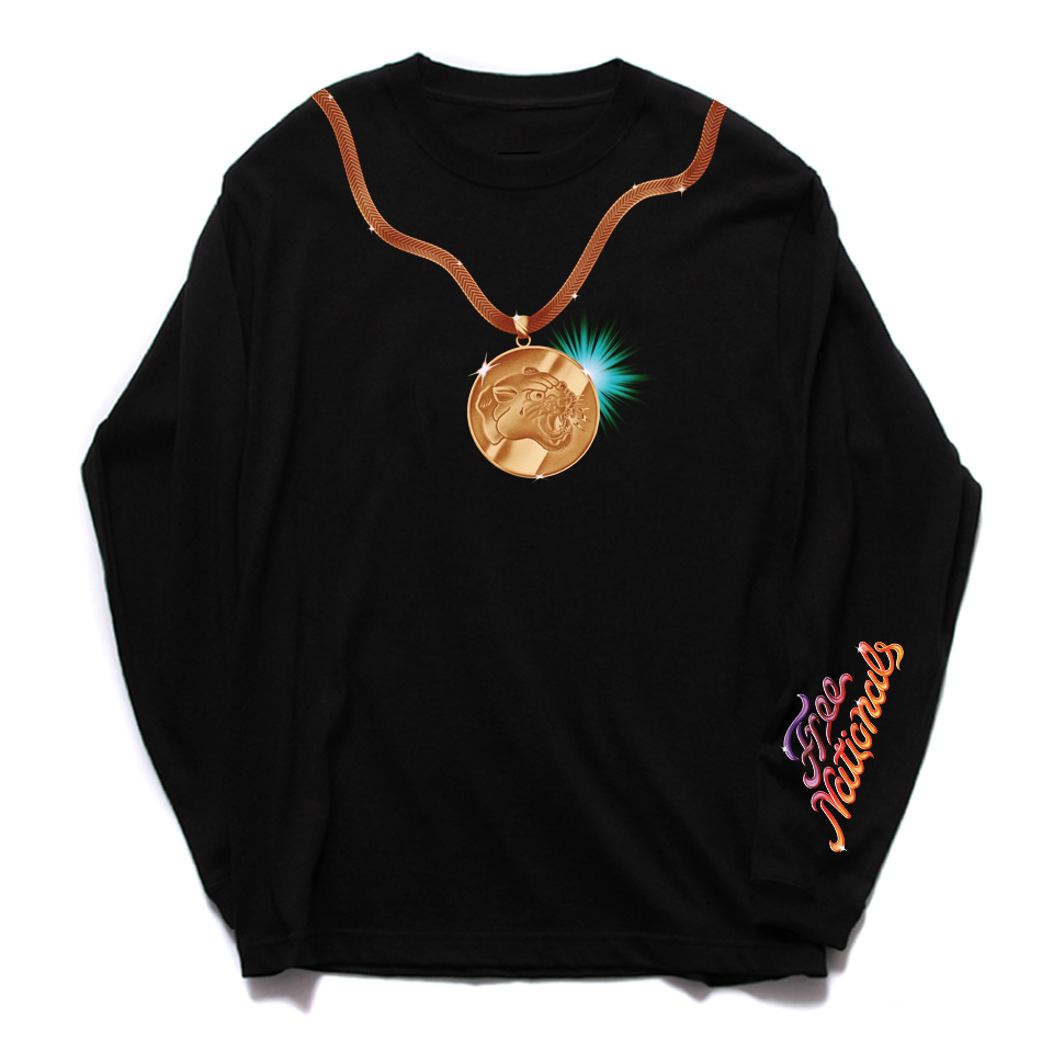 Free Nationals - Medallion Long-Sleeve + Digital DL